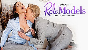 Aidra Fox & Dee Williams In Role Models Dress For Success Girlsway