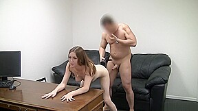 Young Wife Sucks Juicy And Takes Cum