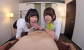 Kou asumi and coco nanahara extra clinic part...