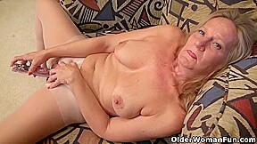 Hot Mature Ladies Are Doing All Kinds Of Naughty Stuff While Alone At Home And Very Horny