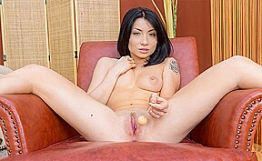 Rina Ellis in Asian Hottie Tries Out Her New Sex Toys – VirtualPornDesire