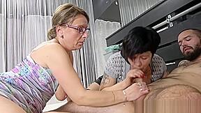 Lusty Grans Wan Threesome