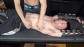 Ian tickled...