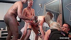 Milfs enjoying cocks in video...