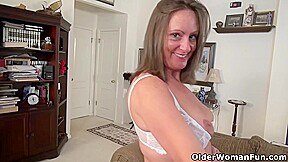 Dirty Mature Women Like To Rub Their Wet Pussies While In Front Of The Camera