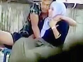 Secret recording of amateur couple having fun