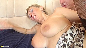 Sexy Mature With Young Man