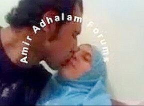Homemade Amateur sex tape of an Arab couple