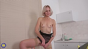 Artemia Is A Mature Blonde Lady Who Likes To Play With Her Pussy And To Get Fucked