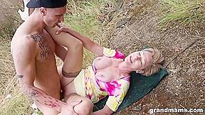 Mature Blonde Woman With Short Hair Is Always In The Mood To Suck Dick And Get Fucked