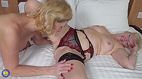 Sapphire And Louise Are Mature Dykes Who Like To Eat Each Others Pussy And Use Sex Toys