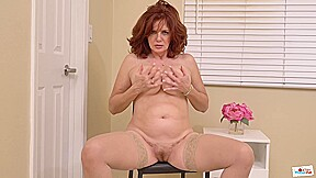 Andi James Is A Red Haired Mature Well Known For Posing Naked And Masturbating On Web Cam