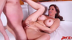 Julia Ann Is Often Getting Fucked In Her Living Room And Enjoying It A Lot