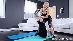 Erica Lauren Is Working Out While Having Sex