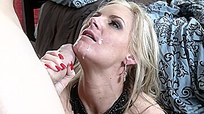 Mature Blonde And Her Lust At First Sight