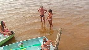 Students lake...