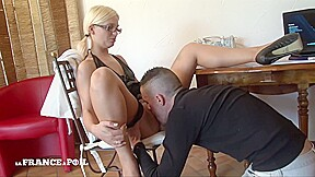 La France A Poil Pretty Student Blonde Came Back From