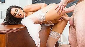Professor silvia saige stupid out student myfirstsexteacher...