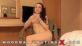 Experienced brunette sylvia crystall decided the camera and...