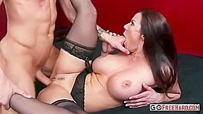 Brunette in erotic kendra lust had step son...