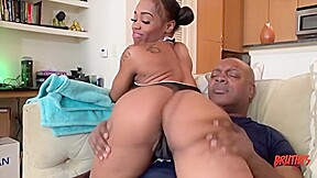 Ebony chick knows that its better while before...
