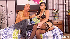 Incredible and bouncy tits becky bandini had until...