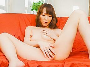 Hitomi Oki applies pleasure on two big cocks – More at javhd.net