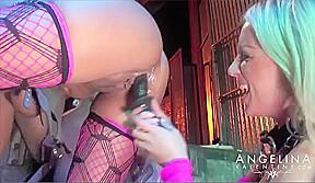 Angelina Valentine All Girl 5 Way Orgy - AngelinaValentine