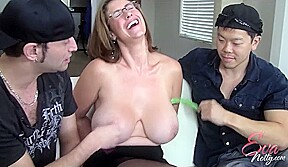 Eva Notty Tickle Fetish with Feather - EvaNotty