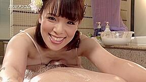 Asian big tits brunette hd hairy pov japanese...