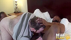 Bearfilms slutty cub logan young fucked by two...
