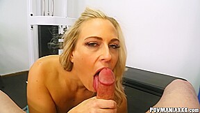 Povmania Angel Allwood Sucks Cock