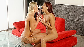 Claudia Macc and Paula Shy in HD Pissing Video Playful Piss Spitting  at Vipissy