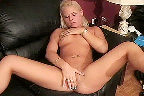 Video from Mytinydick: Two blondes pleasing him