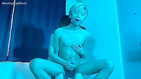 Asian gays handjob...