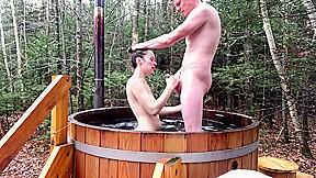 Hot Tub & Glamping Sex (tightlipsbigdick)
