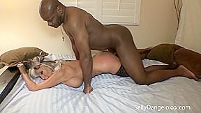 Sally Dangelo In Married Wife Fucks Black Guys