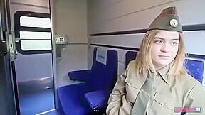 Amwf Popova Julia Russian Woman Soldier Train Sex Korean Man