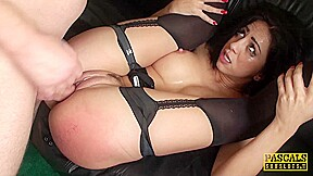PASCALSSUBSLUTS - Submissive Latina Julia de Lucia Dominated