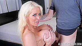 Alura Jenson - Jake Adams Blowjob