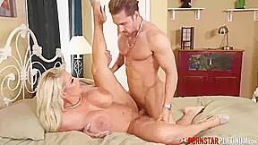 PORNSTARPLATINUM Busty Big Ass MILF Alura Jenson Rides Dick