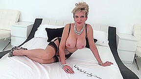 British Milf Lady Sonia Teasing You With Her Big Boobs