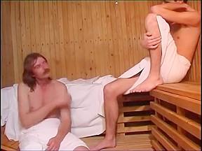 What happens sauna stays sauna...