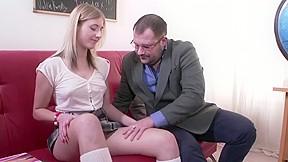 Dirty Professor Fucks Slutty Student