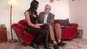 Young fucked by old man...