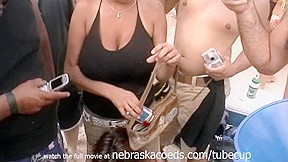 In texas with girls flashing boobs...