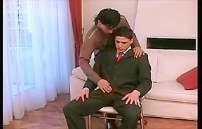 Hot latino businessman pleasures...