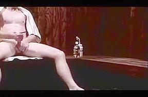 Anonymous sauna jackoff...