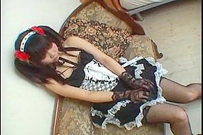 Cosplay Porn: Japanese Maid Cosplay Sex Cosmate 11 Ruri Houshou part 2