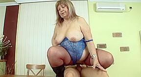 kiki overweight granny